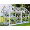 河南花卉玻璃温室,玻璃温室大棚建设/造价
