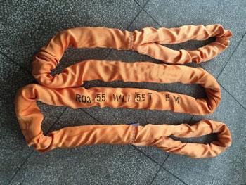 力夫特柔性吊带,大吨位圆形吊装带,软吊绳
