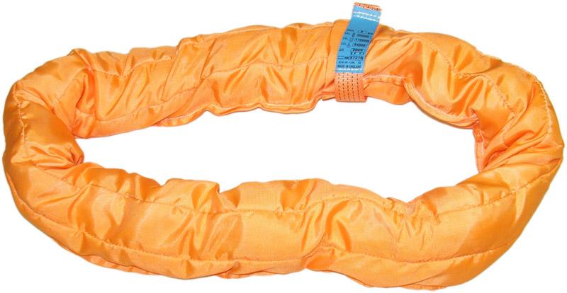 力夫特大吨位柔性吊带,圆筒吊装带,圆形吊绳
