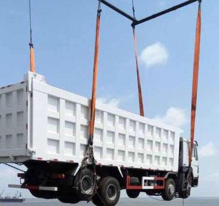 吊带吊网,大吨位汽车吊装网,尼龙汽车吊网
