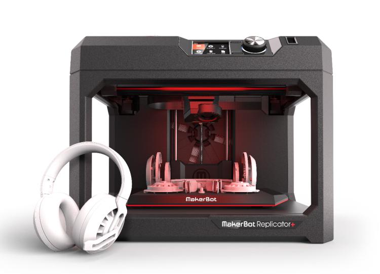 宁波3d打印机MakerBot Replicator R5+高精度大尺寸产品设计报价浙江