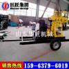 130型液压水井钻机 XYX-130轮式打井机移动方便