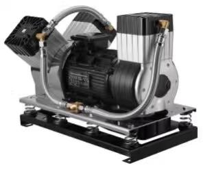 供应浩博特无油活塞空压机无油腹吸式空压机电动汽车空压机